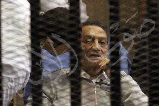 مبارك فى القفص و نظر تظلم مبارك فى حبسة تصوير ماهر اسكندر 15-4-2013 (34) copy