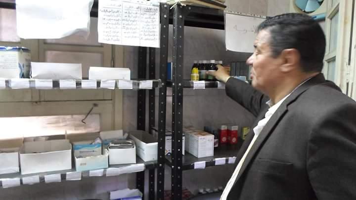 رئيس مركز ومدينة كفر الزيات يحيل 7 أطباء وعاملين للتحقيق (5)