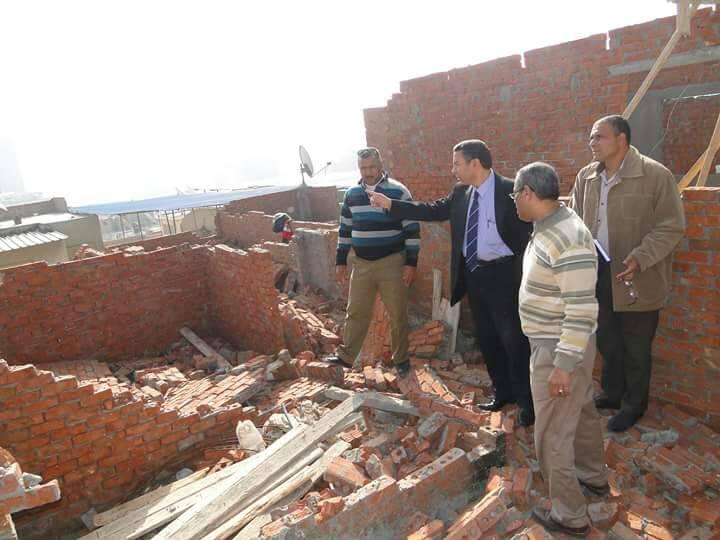 رئيس  مدينة دمنهور يقود حملة مكبرة
