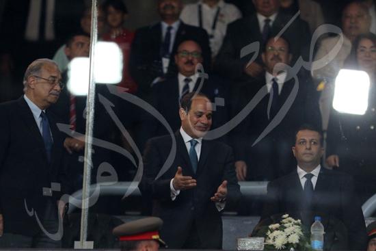 افتتاح كاس العالم للشباب للسلة بحضور الرئيس عبد الفتاح السيسى تصوير حسام عاطف (11)