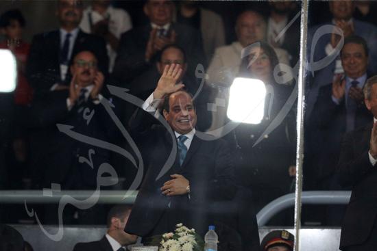 افتتاح كاس العالم للشباب للسلة بحضور الرئيس عبد الفتاح السيسى تصوير حسام عاطف (14)