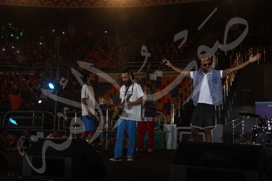 افتتاح كاس العالم للشباب للسلة بحضور الرئيس عبد الفتاح السيسى تصوير حسام عاطف (5)