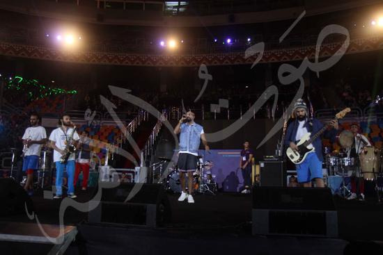 افتتاح كاس العالم للشباب للسلة بحضور الرئيس عبد الفتاح السيسى تصوير حسام عاطف (6)