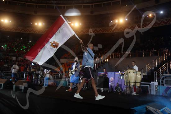 افتتاح كاس العالم للشباب للسلة بحضور الرئيس عبد الفتاح السيسى تصوير حسام عاطف (7)