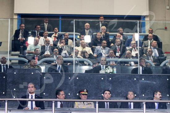 افتتاح كاس العالم للشباب للسلة بحضور الرئيس عبد الفتاح السيسى تصوير حسام عاطف (4)