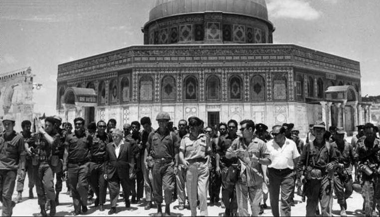 اغلاق المسجد الأقصي 1967