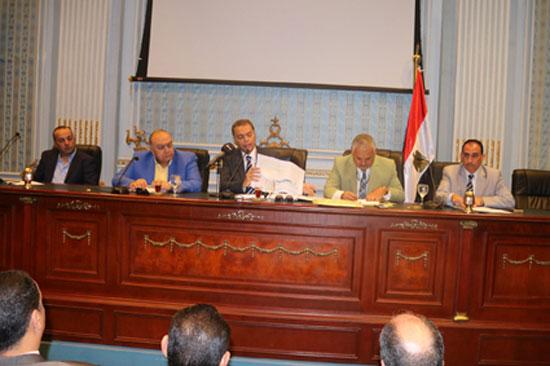 لجنة النقل والمواصلات بمجلس النواب (1)