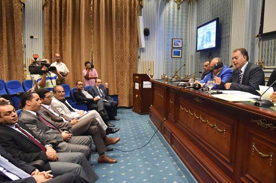 لجنة النقل والمواصلات بمجلس النواب (9)