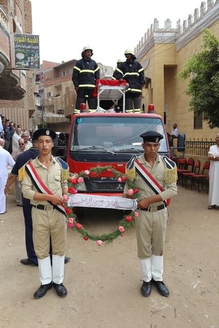جنازة الشهيد ملازم أول تامر عبدالحافظ  (2)