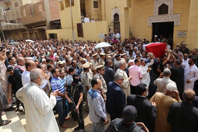 جنازة الشهيد ملازم أول تامر عبدالحافظ  (13)