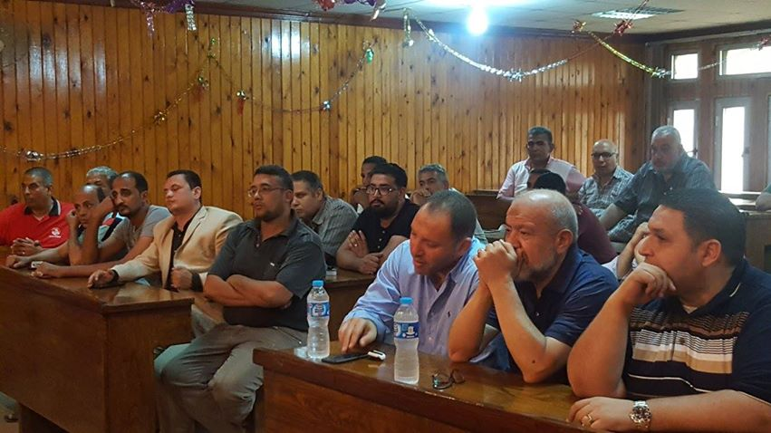 اجتماع رئيس حي الأزبكية (3)