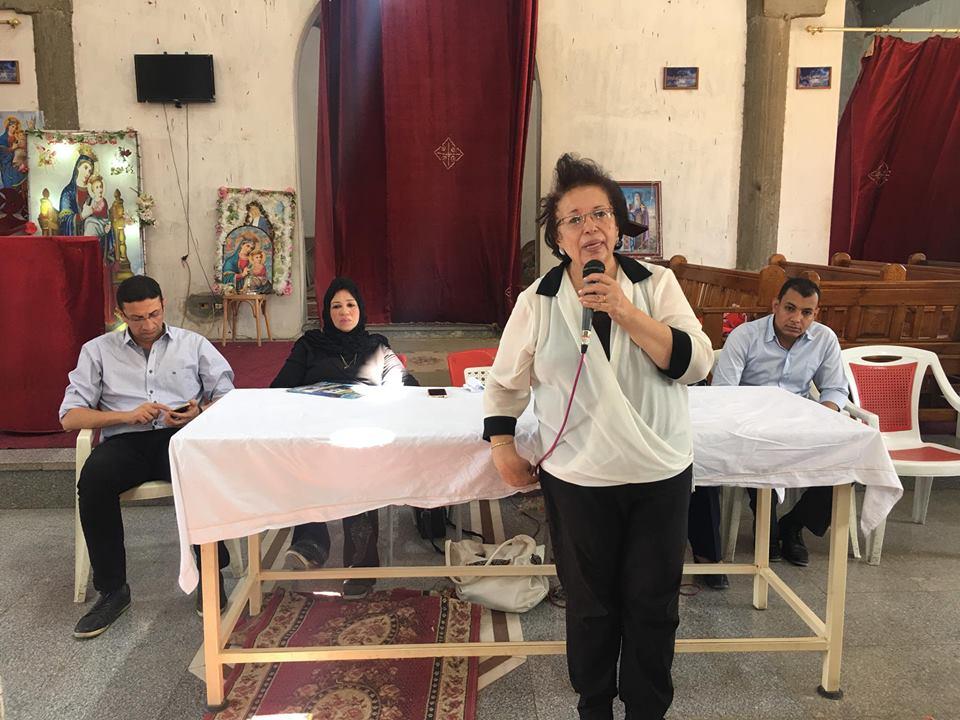 ندوة وحملات القومي للمراة بالاقصر بدير القديسين (1)
