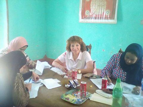 حملات القومي للمراة بمدينة الطود (1)