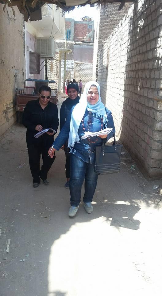 حملات القومي للمراة بمدينة الطود (2)