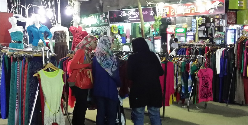 af9dc13267417 ملابس العيد فى أسواق البحيرة للعرض فقط.. وأهالى المحافظة  «هنضحى ولا ...
