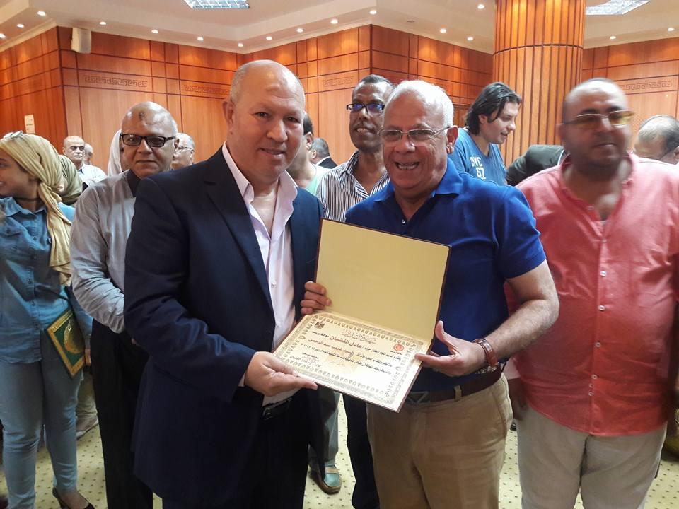 تكريم المحافظ للمعلمين المتميزين ببورسعيد (4)