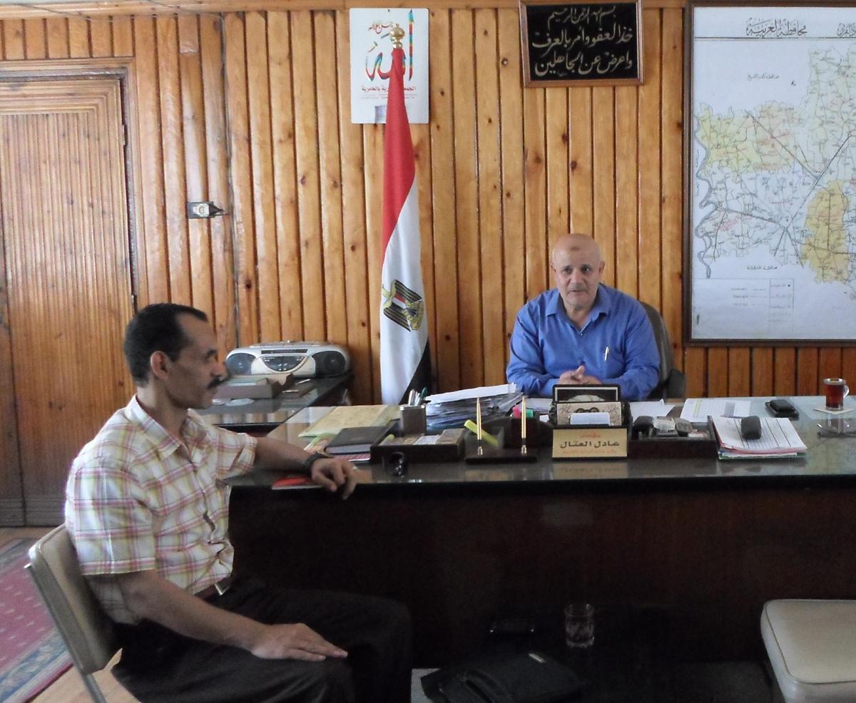 حوار مع وكيل وزارة الزراعة بالغربية