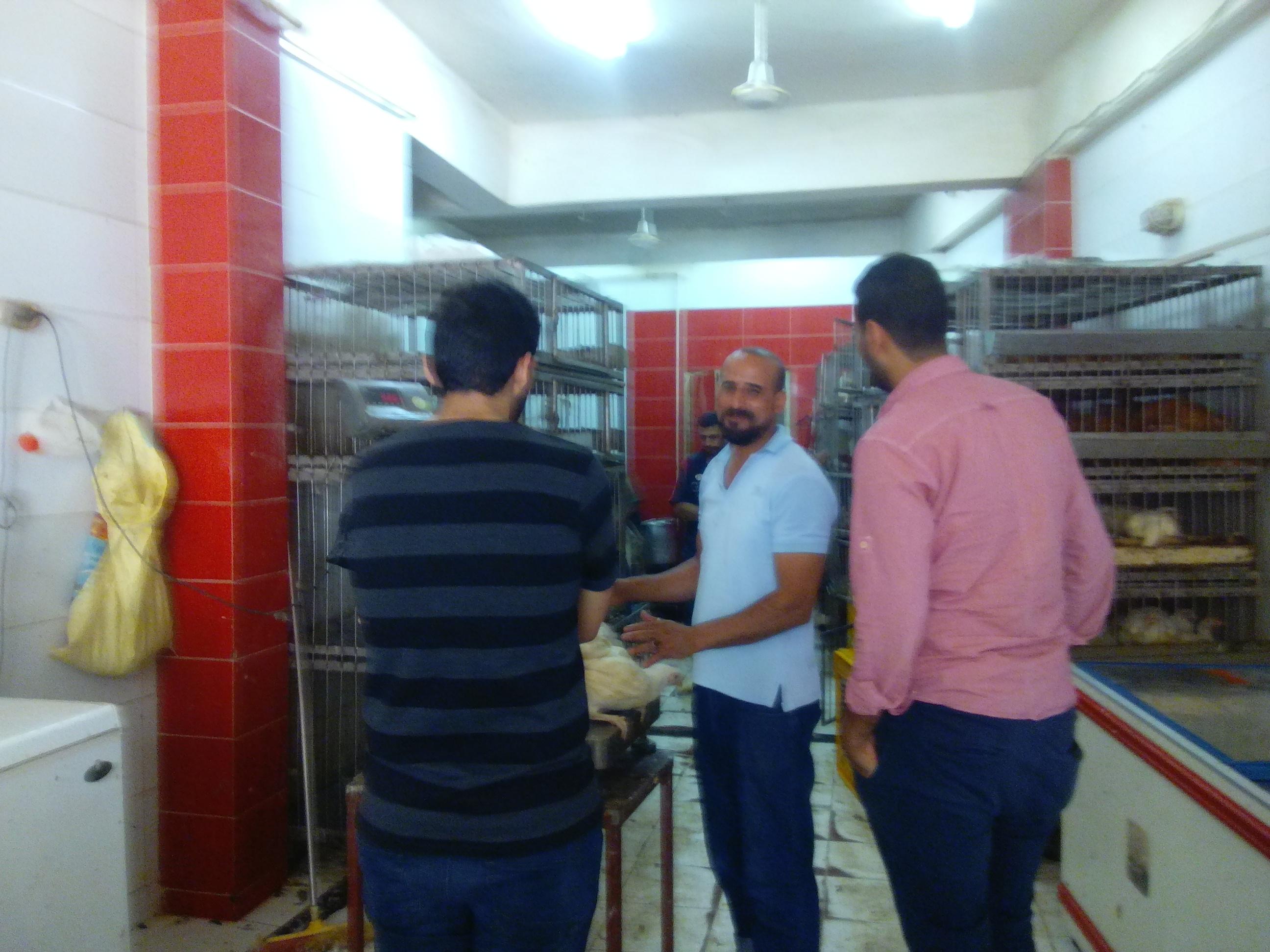 1- اللجوء لمحال الدواجن والاحجام عن اللحوم البلدية  بكفر الشيخ