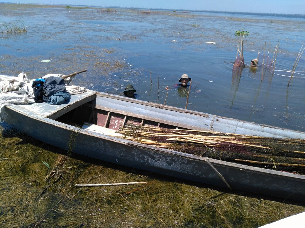 3- ضبط مخالفات  بكفر الشيخ في نهر النيل