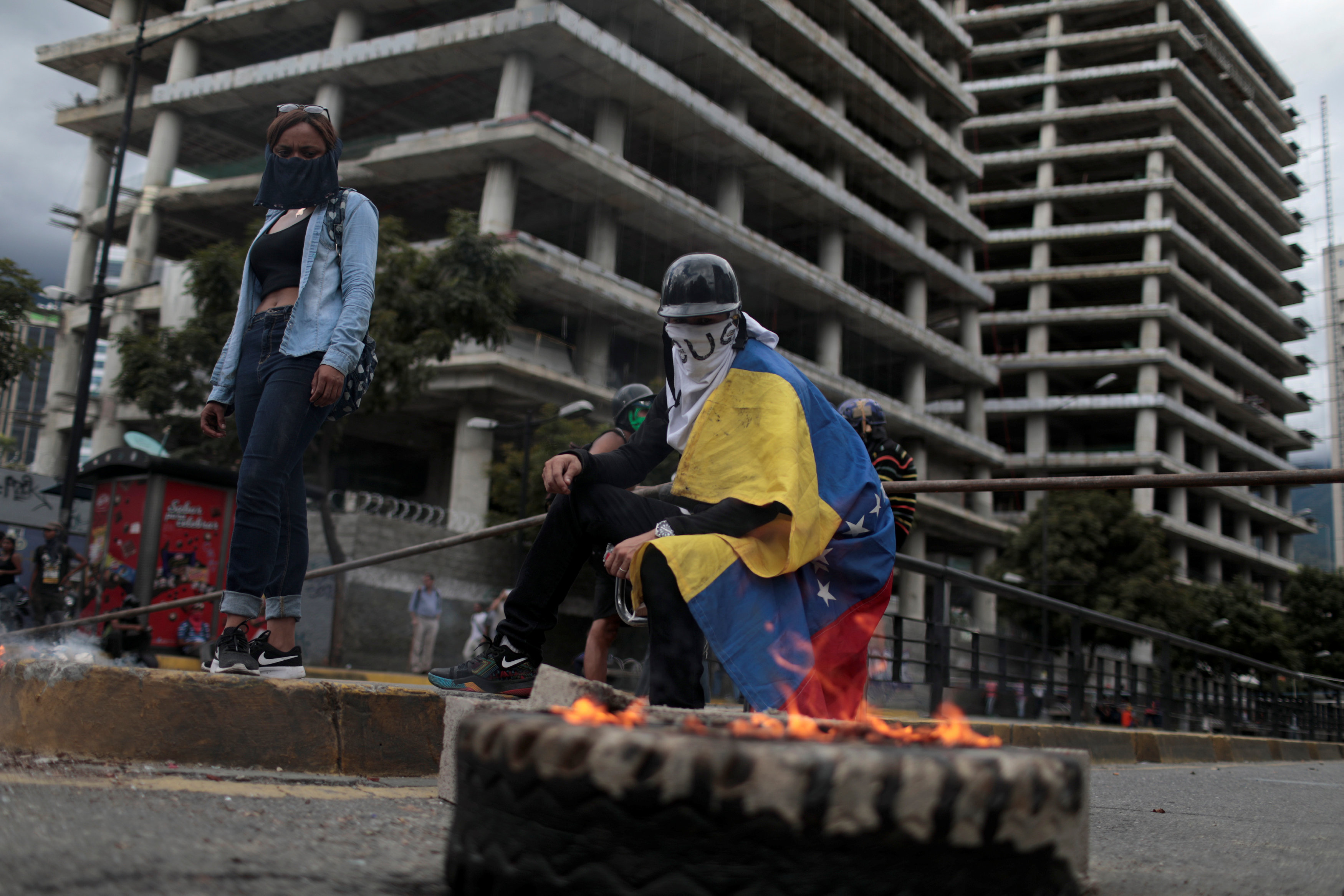 اشتباكات فنزويلا (7)