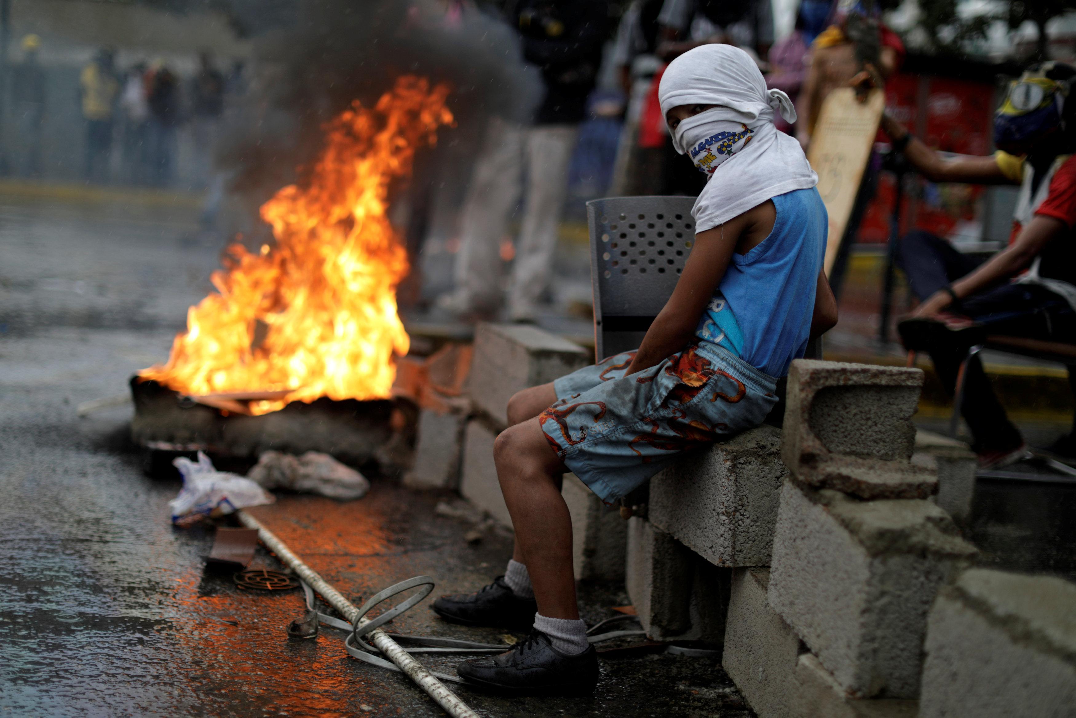 اشتباكات فنزويلا (11)