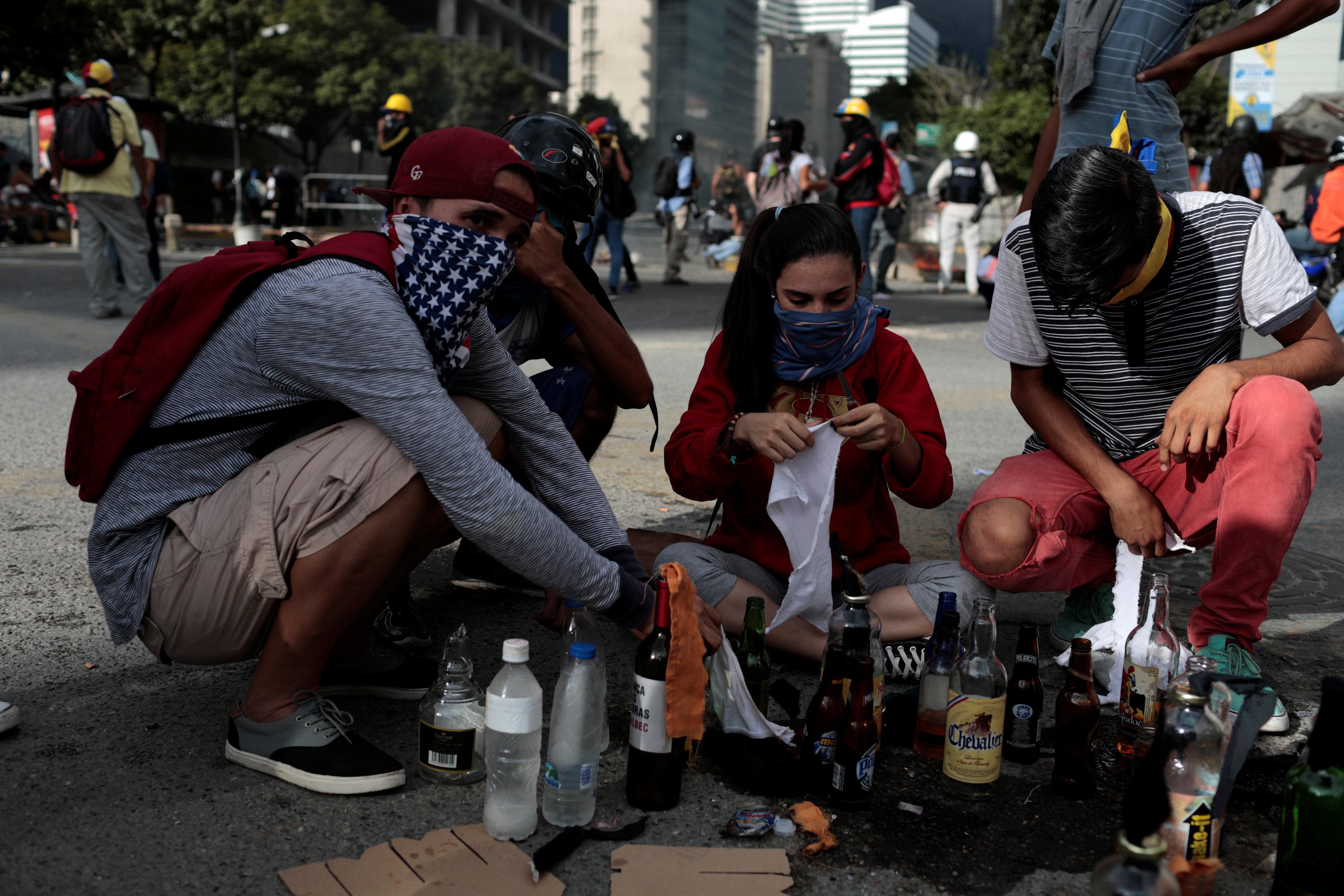 اشتباكات فنزويلا (5)