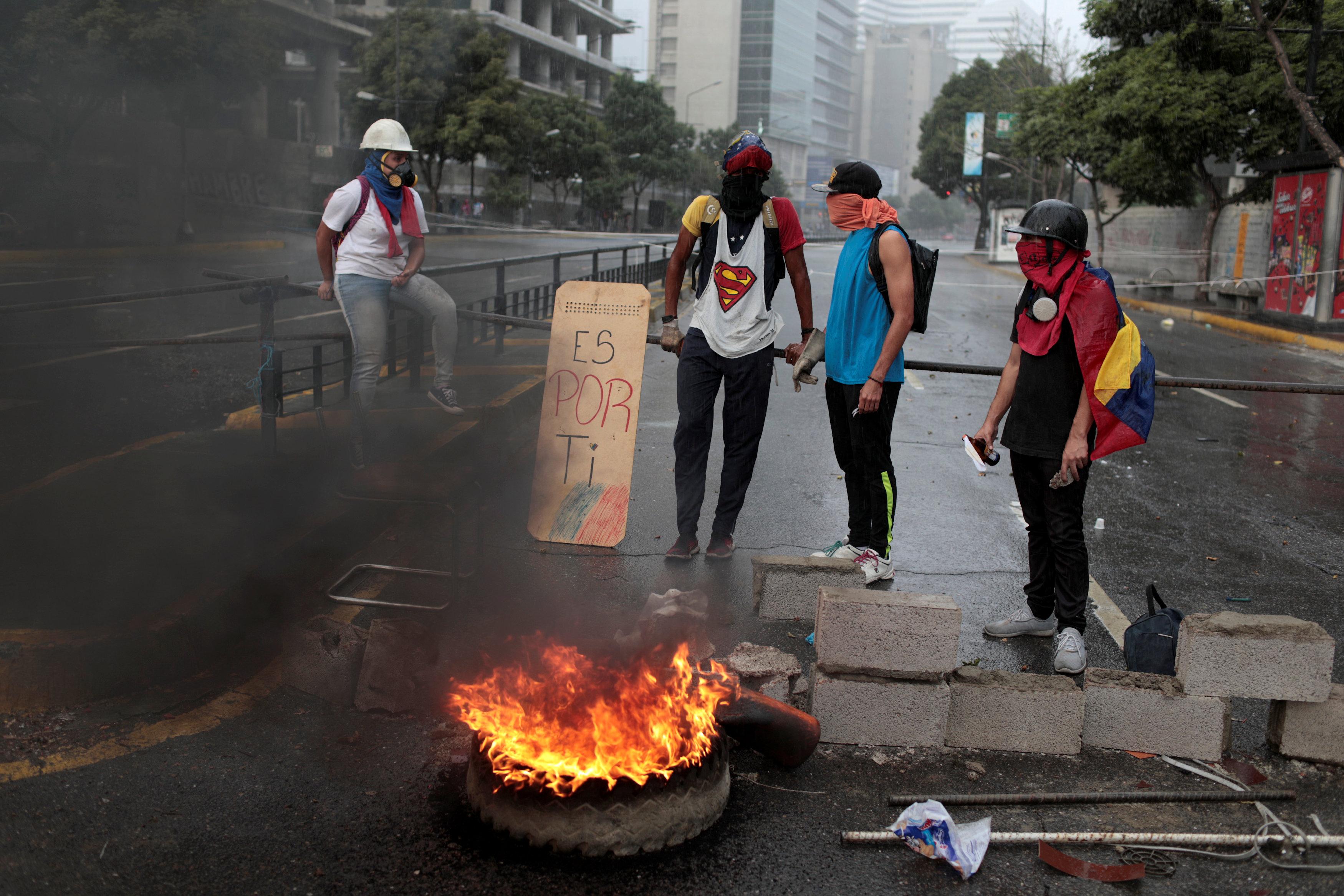 اشتباكات فنزويلا (8)