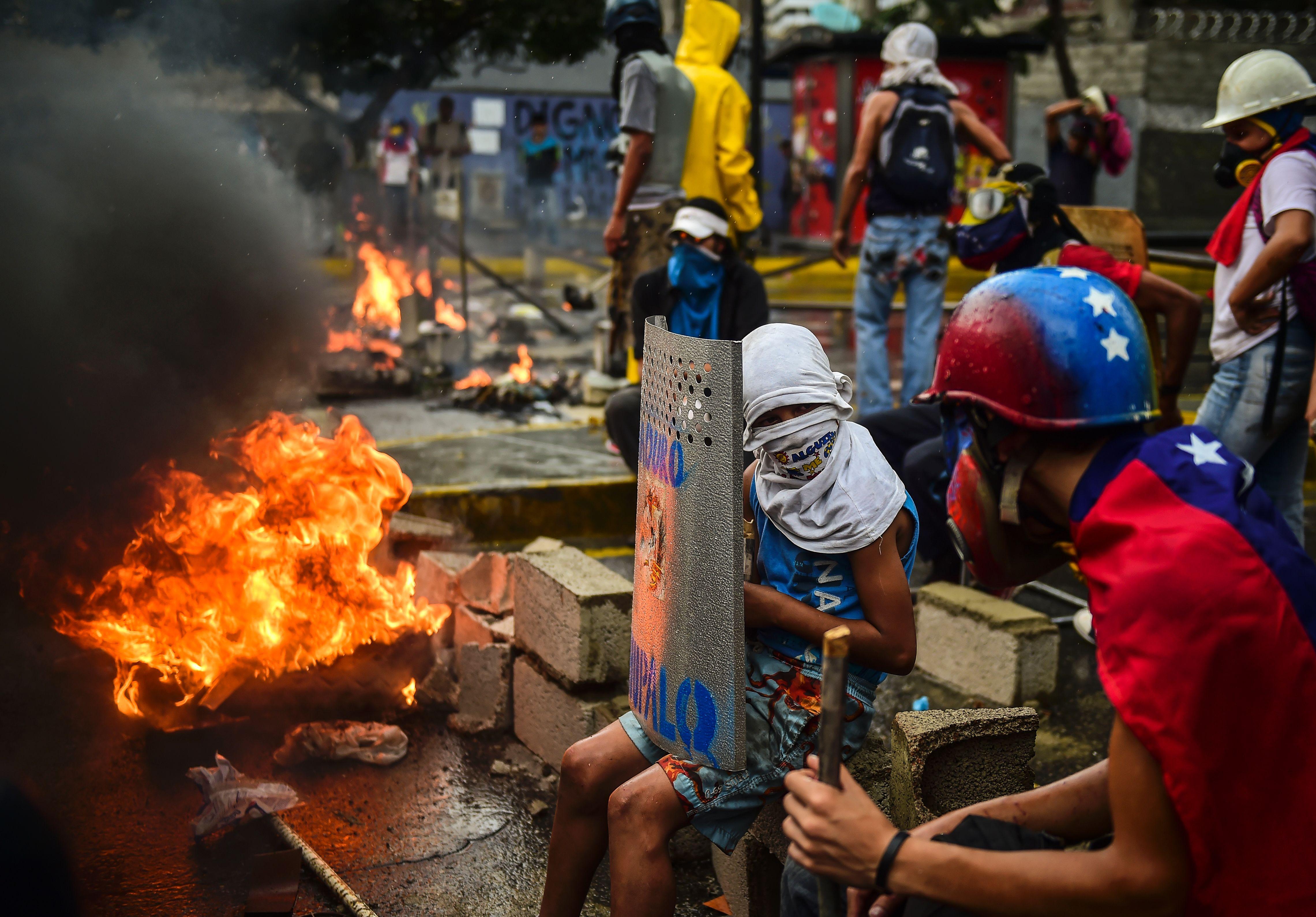 اشتباكات فنزويلا (16)