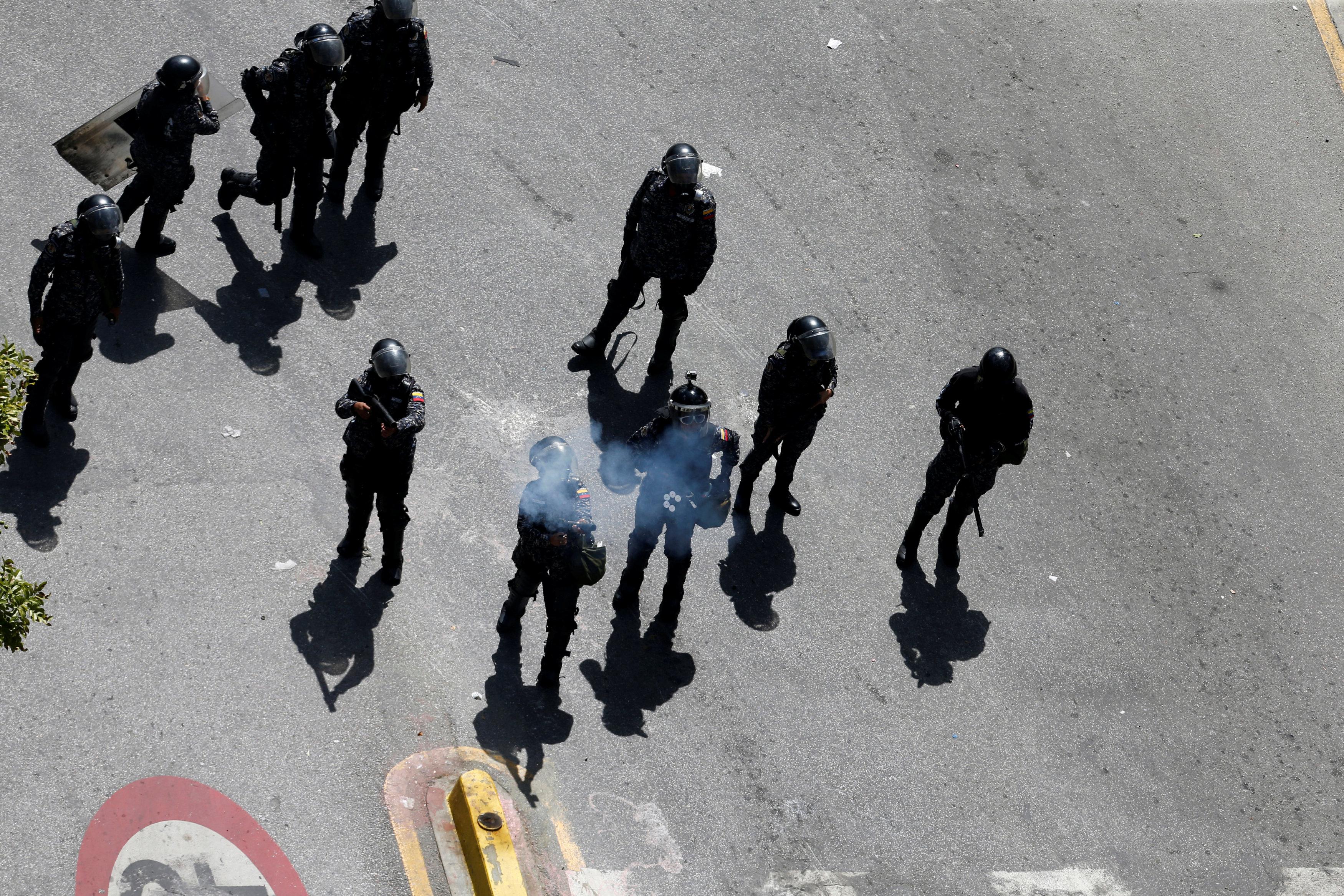 اشتباكات فنزويلا (2)