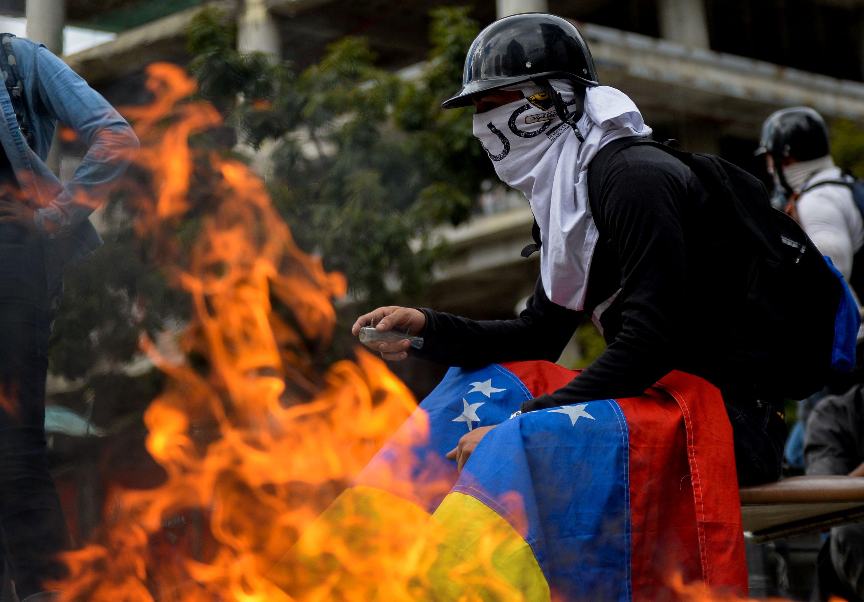 اشتباكات فنزويلا (14)