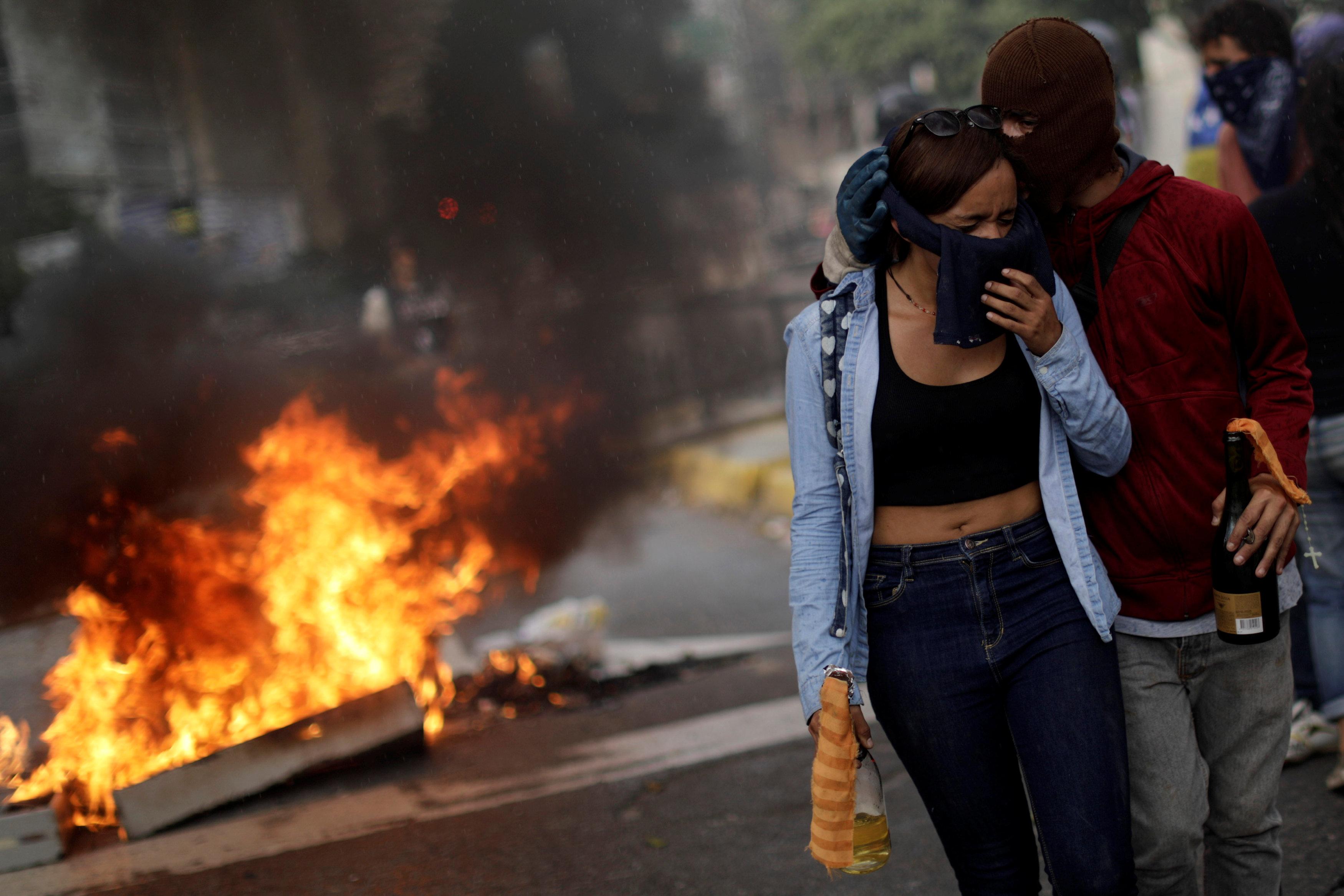 اشتباكات فنزويلا (13)