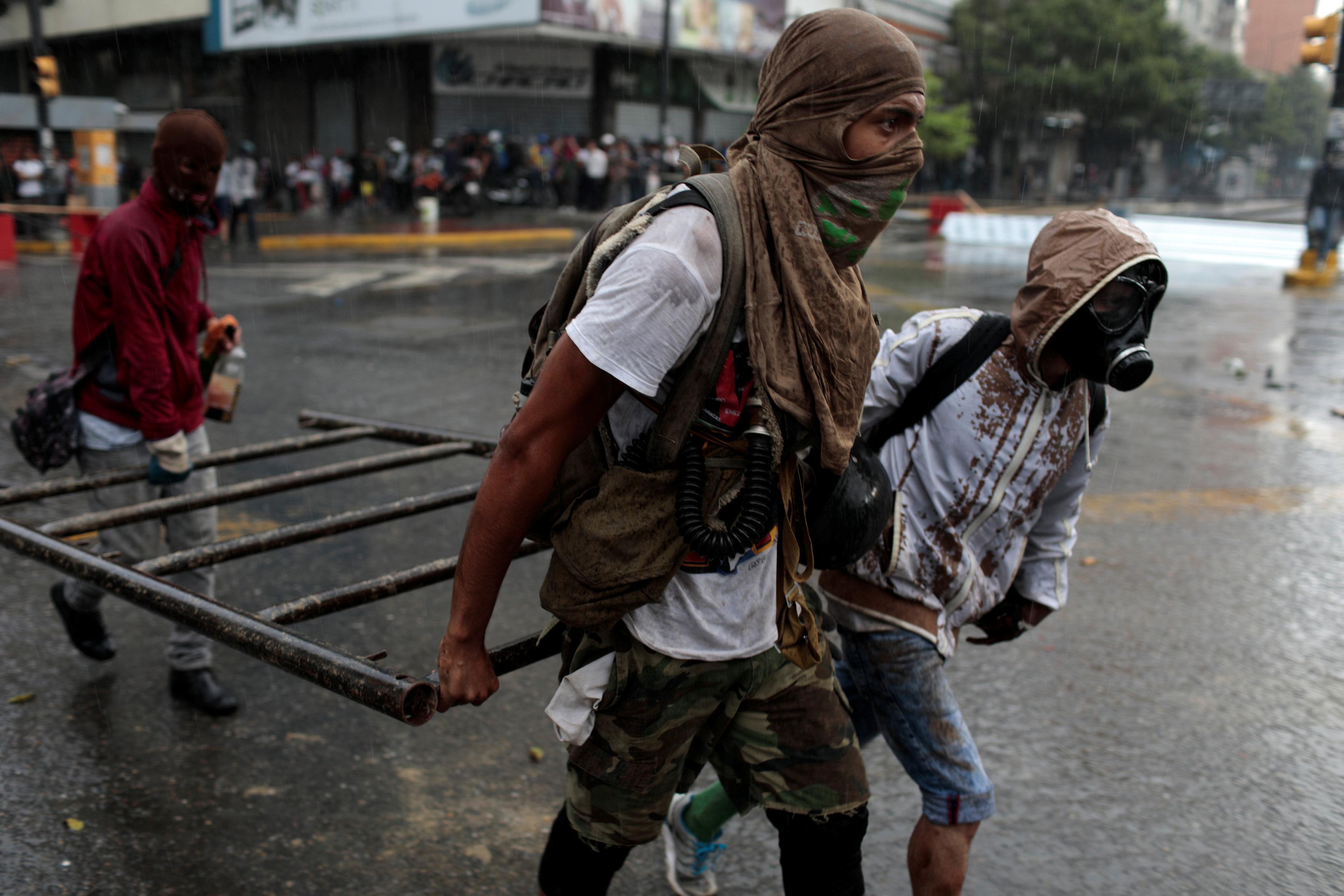 اشتباكات فنزويلا (6)