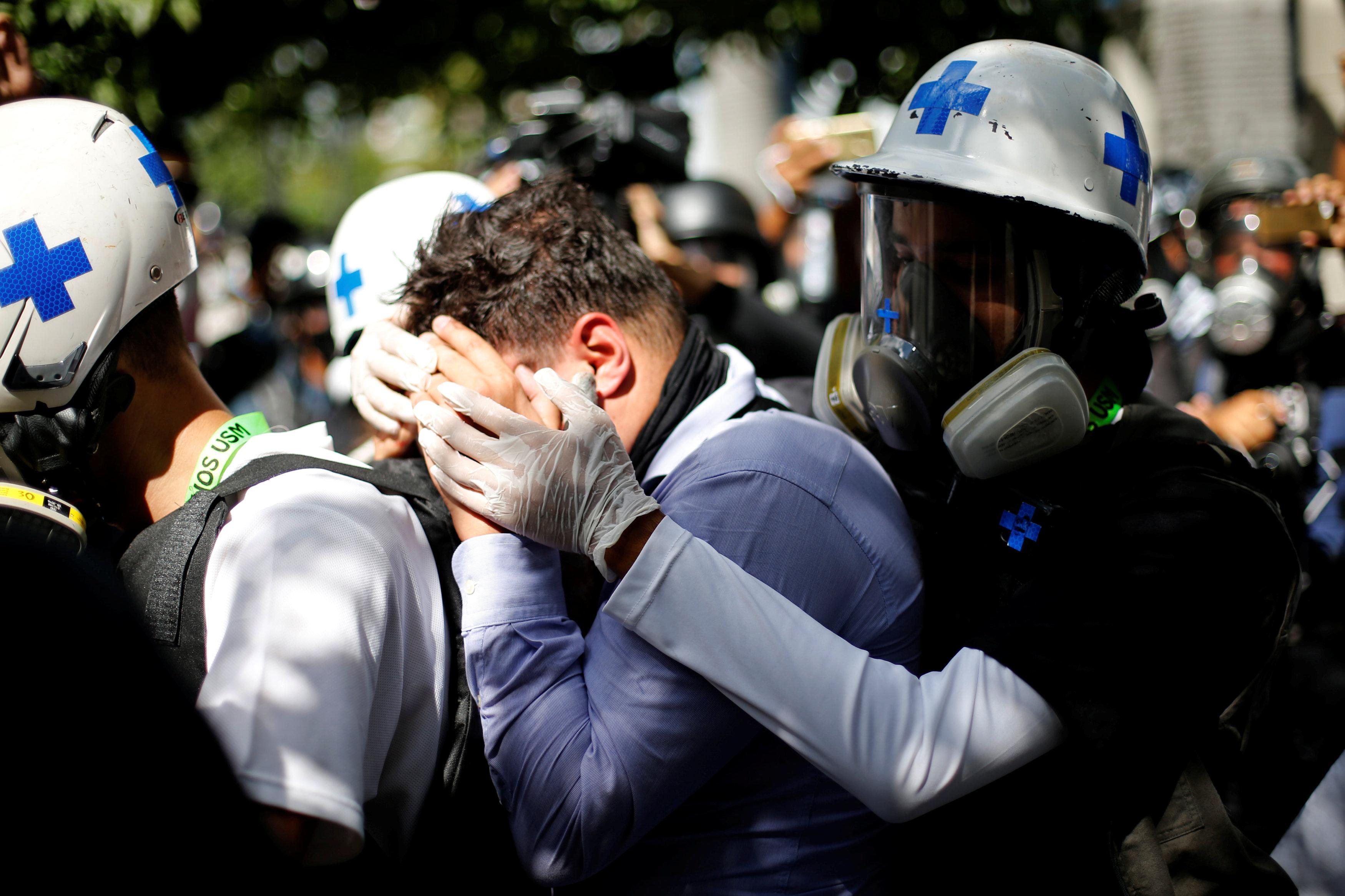 اشتباكات فنزويلا (12)