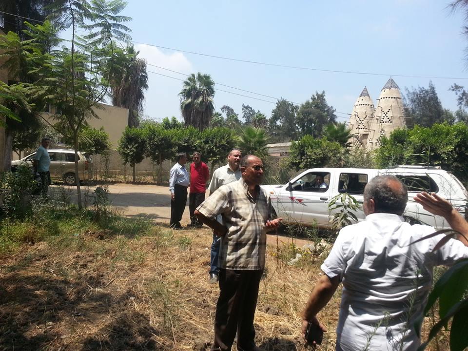 رئيس سمنود يوجه بزراعة المساحات الخالية بالأشجار المثمرة