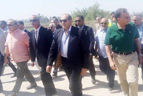 وزير النقل ومحافظ سوهاج