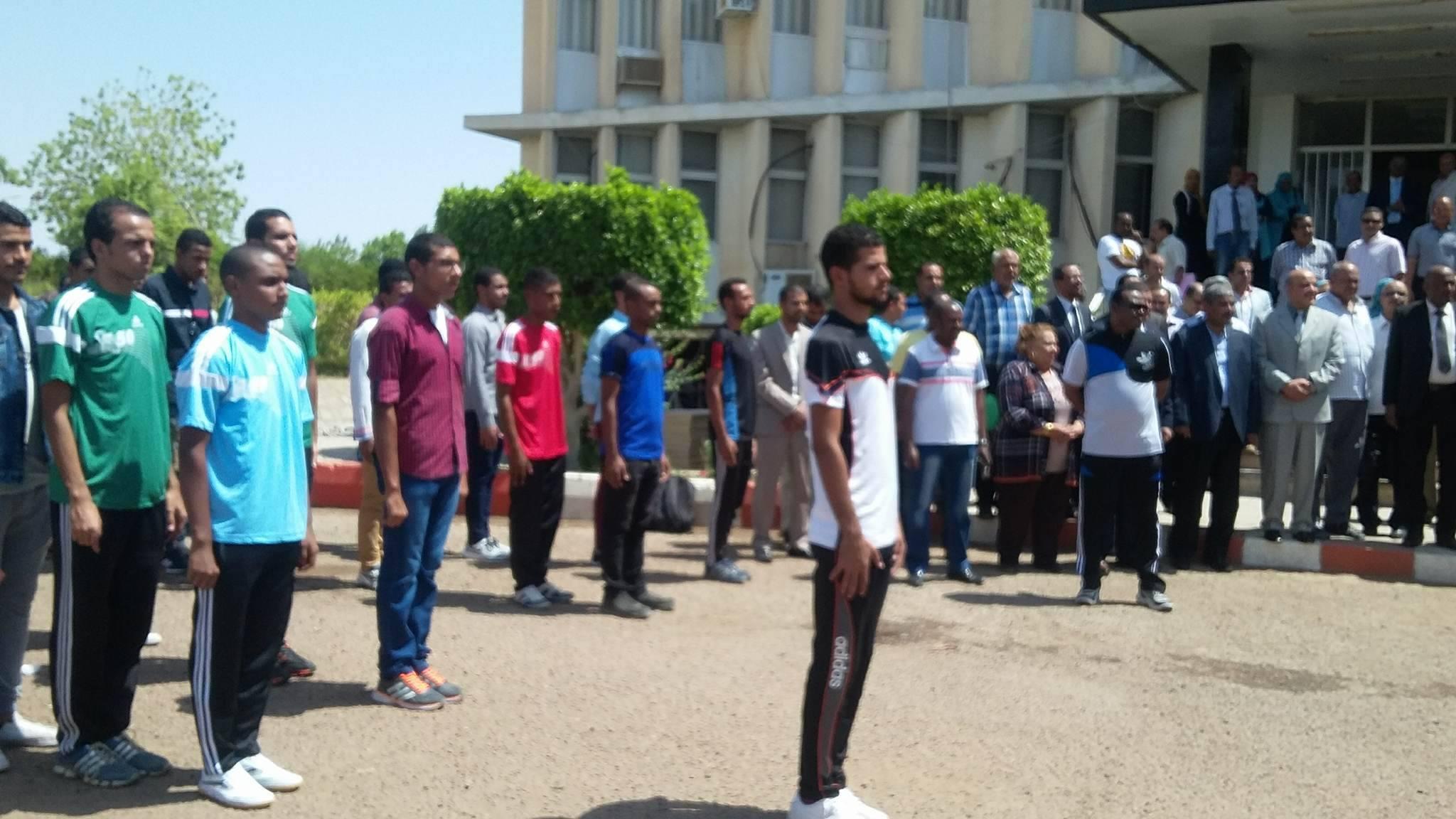 بداية العام الجامعي بجامعة اسوان (1)