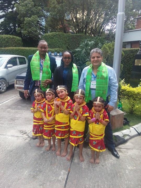 رئيس مهرجان زنزبار بتنزانيا وقنصل الكونغو ف الهند