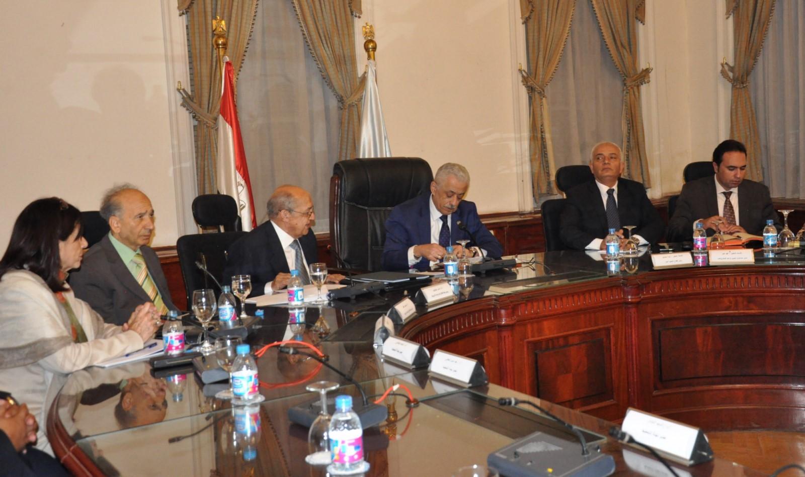 اجتماع قيادات التربية والتعليم مع عمداء الكليات لتطوير التعليم (3)