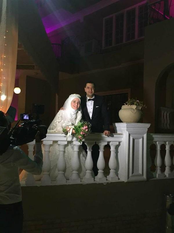 زفاف معز وبسنت
