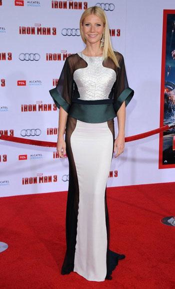 الممثلة والمغنية الأمريكية جوينث بالترو ويصل طولها إلى 179 سنتيمتراً،