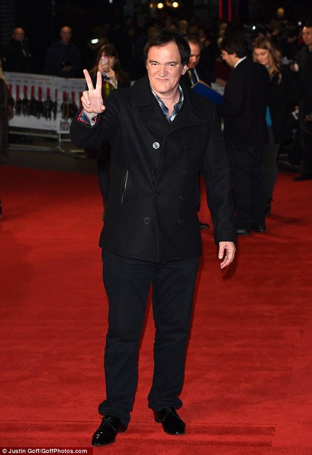 الممثل والمخرج الأمريكى كونتن تارانتينو وطوله 183 سم.