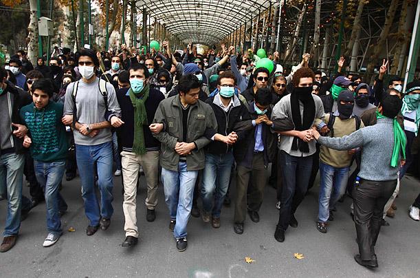مظاهرات في ايران