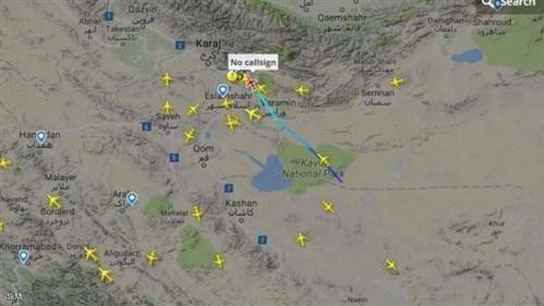طائرات غامضة بالمجال الجوي الإيراني