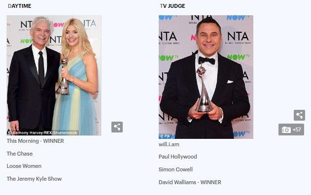 14 جائزة لنجوم الشاشة الصغيرة فى حفل National Television Awards (صور) (6)