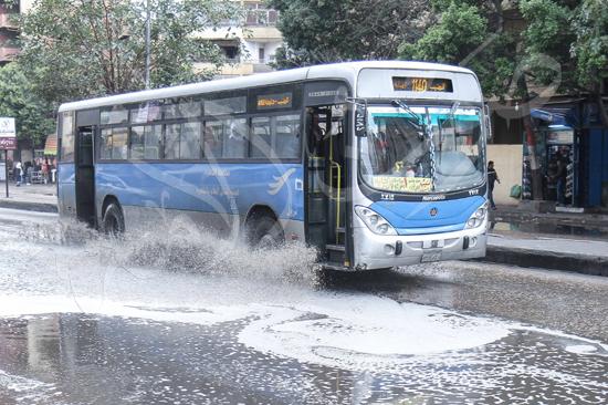 الأمطار تغرق شوراع الجيزة (8)