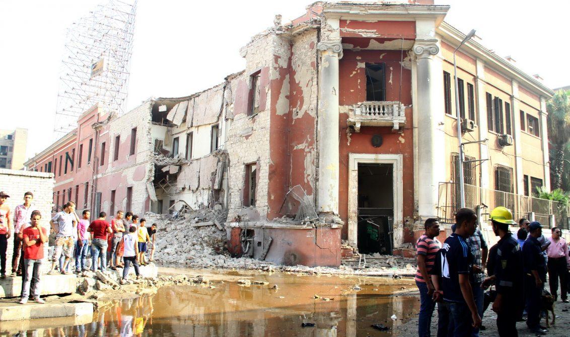 تفجير القنصلية الإيطالية بالقاهرة عام 2015