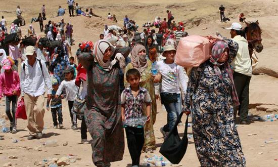 للاجئين السوريين