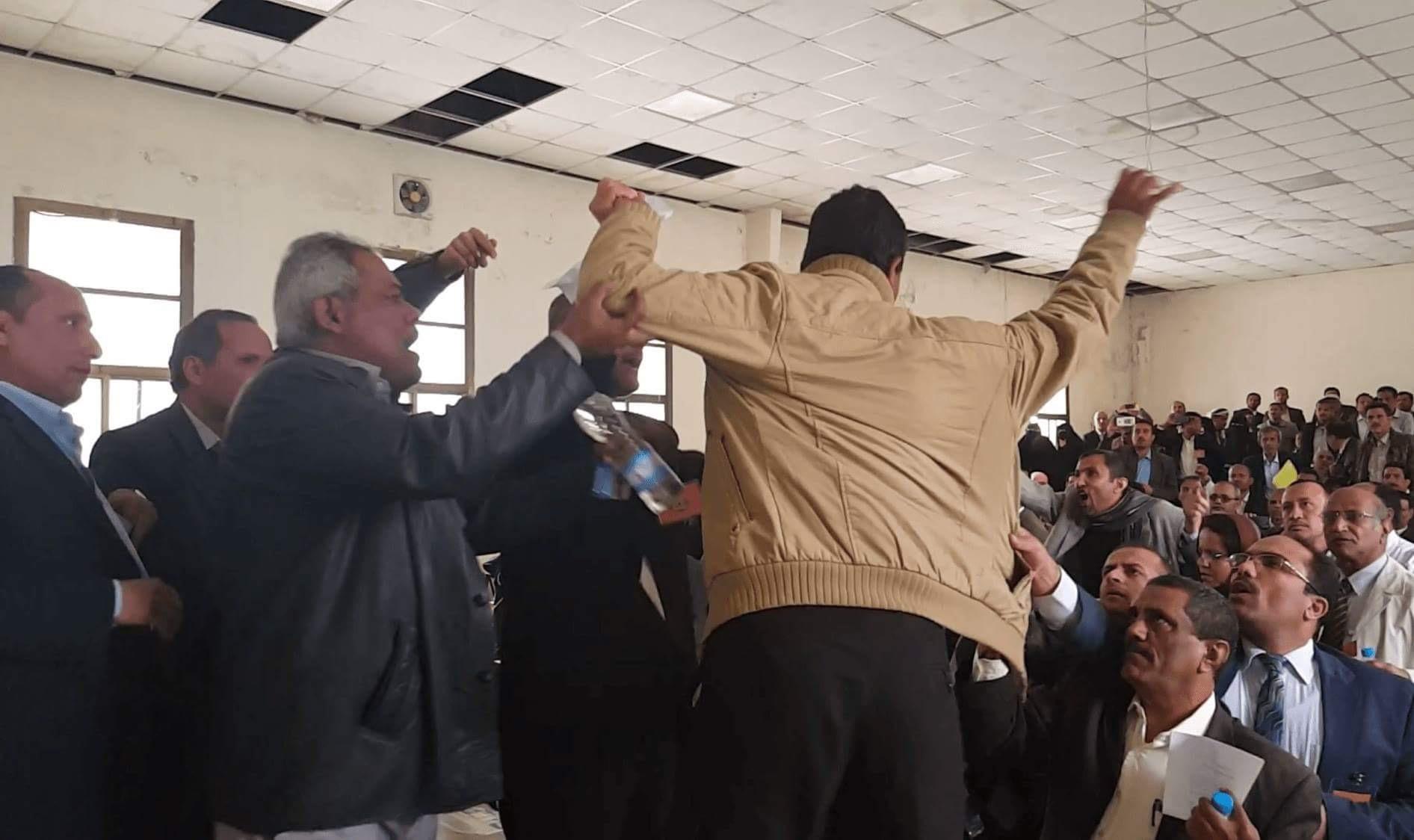 الاعتداء على أكاديمين فى جامعة صنعاء