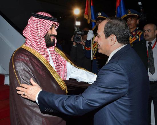 الرئيس السيسي والملك محمد بن سلمان (3)
