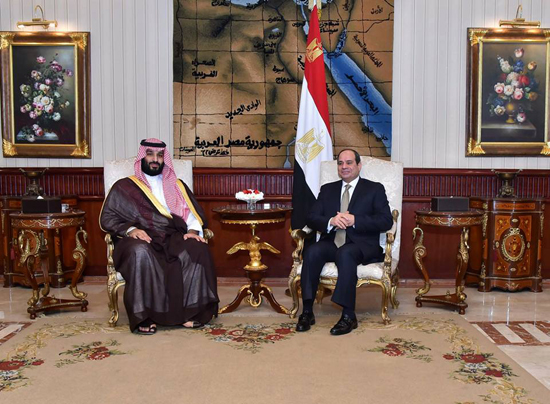 الرئيس السيسي والملك محمد بن سلمان (2)